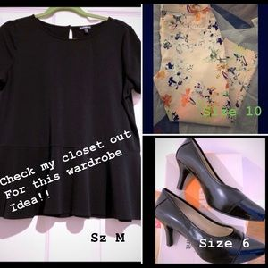 Other - Wardrobe Ideas!! Check my closet out!!